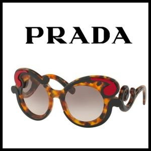 Prada Sunglasses SPR 23N baroque red